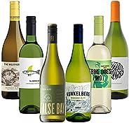 バラエティー豊かなラベルに注目! すっきり爽やか系を集めた南アフリカ カジュアル白ワインセット(白750mlx6) [南アフリカ/Amazon.co.jp限定/winery direct]