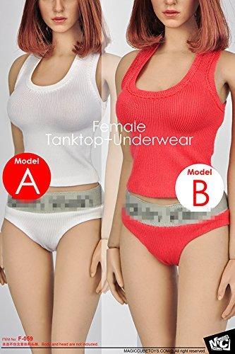 MC Toys 1/6スケール 女性 素体 コスプレ クロージングセット アウトフィットセット ヘッド含みません (B)