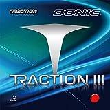 DONIC(ドニック) 卓球 ラバー トラクション 3 AL080 ブラック(AB) 2.1