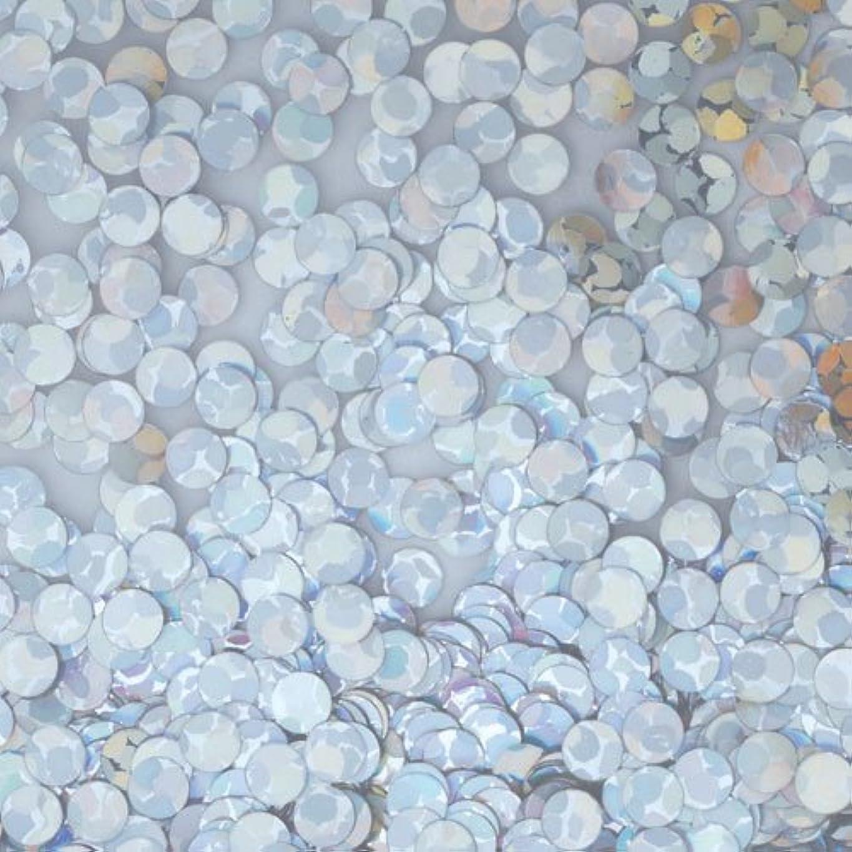 ピカエース ネイルアート 丸ホロ 1mm #872 シルバー 0.5g