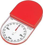 タニタ キッチンスケール はかり 料理 アナログ 1kg 5g単位 レッド 1445-RD