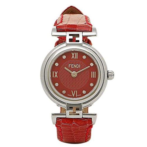 [フェンディ] 時計 レディース FENDI F271277D モーダ MODA 腕時計 ウォッチ レッド/シルバー [並行輸入品]