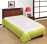 100% Pure Cotton New Jaipuri Traditional King Size Double Bedsheet With 2 Pillow Cover (Jaipuri BedS