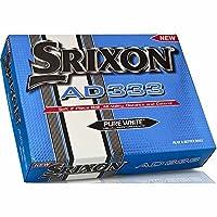 SRIXON(スリクソン) AD333 ゴルフボール 1ダース(12球入り) ホワイト US仕様【NEWパッケージ】