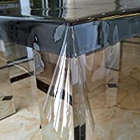 超薄型の透明なテーブル クロス,プラモデル テーブルクロス フィギュア テーブル トップ カバー 防汚 テーブル クロス 耐水性のテーブル クロス-A 137x100cm(54x39inch)