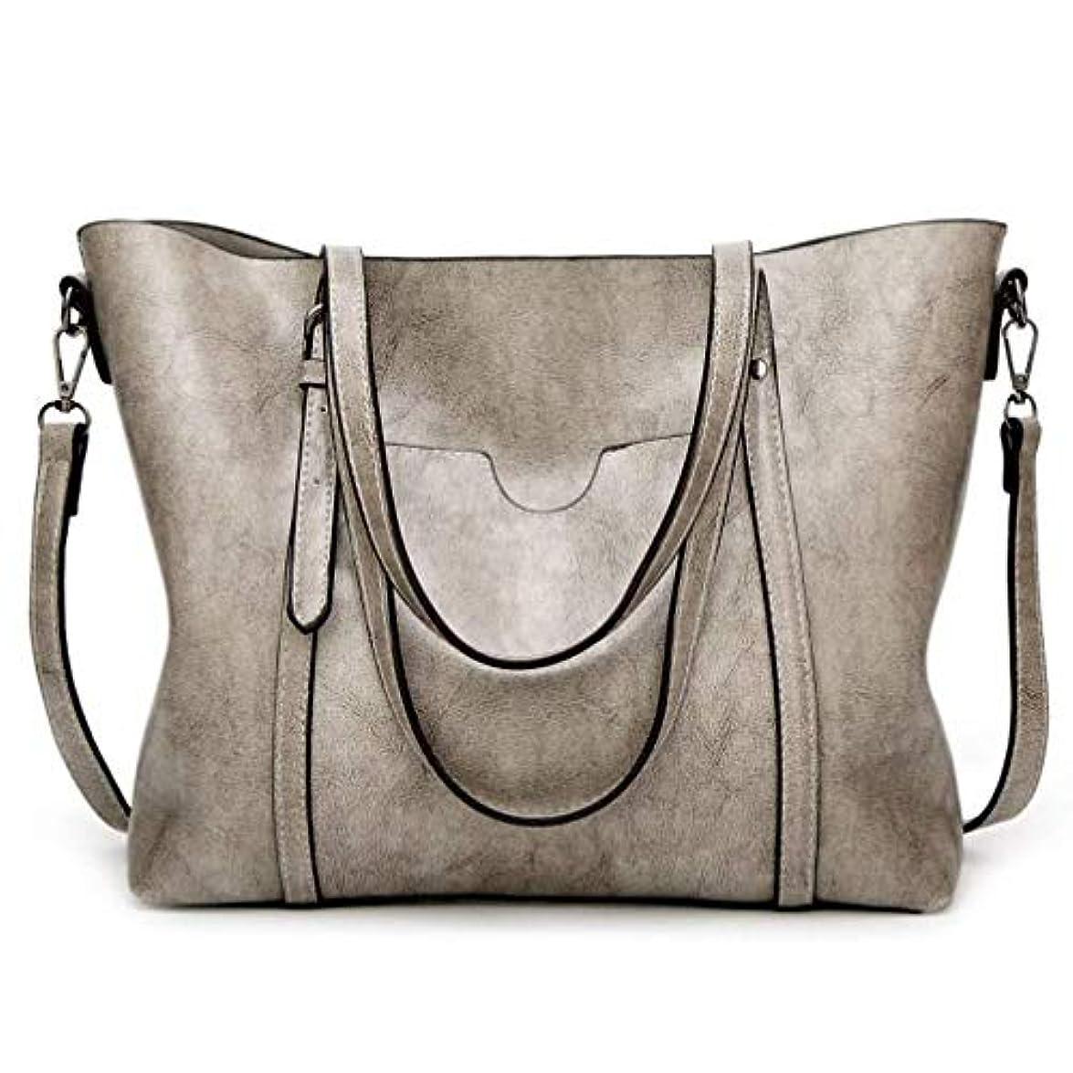 TcIFE ハンドバッグ レディース トートバッグ 大容量 無地 ショルダーバッグ 2way シンプル バッグ