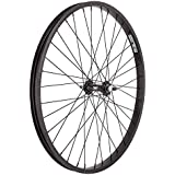 Wheel Master Front Bicycle Wheel 24 x 2.125 36H, Alloy, Bolt On, Black by WheelMaster