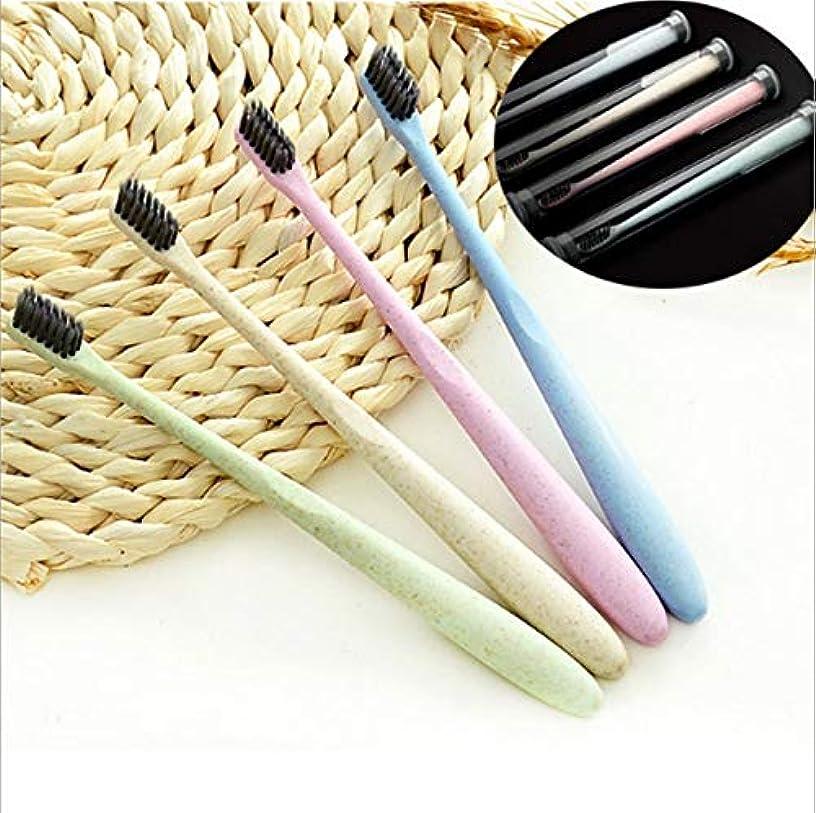 分配しますループかけるDongGe 柔らかい毛の歯ブラシ、歯へのダメージなし、ディープクレンジング、スーパーソフトで繊細な歯ブラシ (Color : Blue)