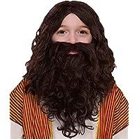 Forum Novelties Child's Biblical Wig and Beard Set, Brown [並行輸入品]