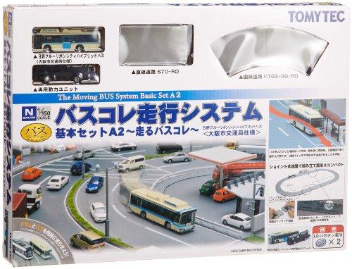 バスコレクション バスコレ走行システム 基本セットA2 (大阪市交通局仕様)