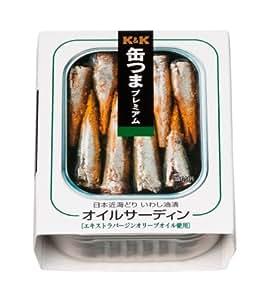 K&K 缶つまP オイルサーディン 105g