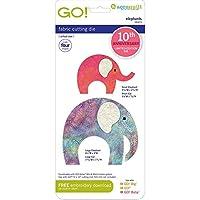 AccuQuilt GO! Die Elephants 55373 10周年記念限定版