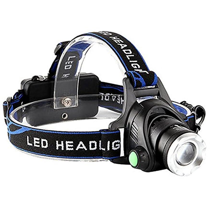 誇りに思う比べる五月LEDヘッドライト USB充電式 防水レベル 高輝度ヘッドランプ 夜釣り 登山 防災 SOSフラッシュ機能 ズーム機能付き ヘルメットライト 軽量型 作業灯