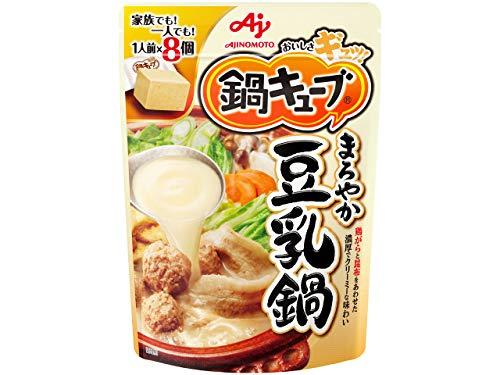味の素 鍋キューブ まろやか豆乳鍋 77g×3個