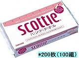 スコッティ ハンドタオル100W ソフトタイプ 200枚(100組) 60入