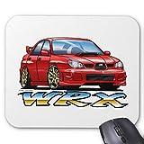 06_09_WRX_RED Mouse Pad 18cm x 22 cm
