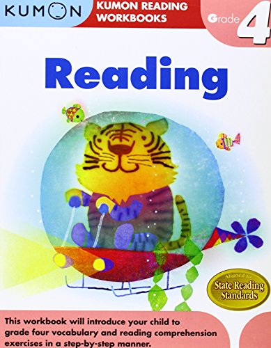 Reading Grade 4 (Kumon Reading Workbooks)