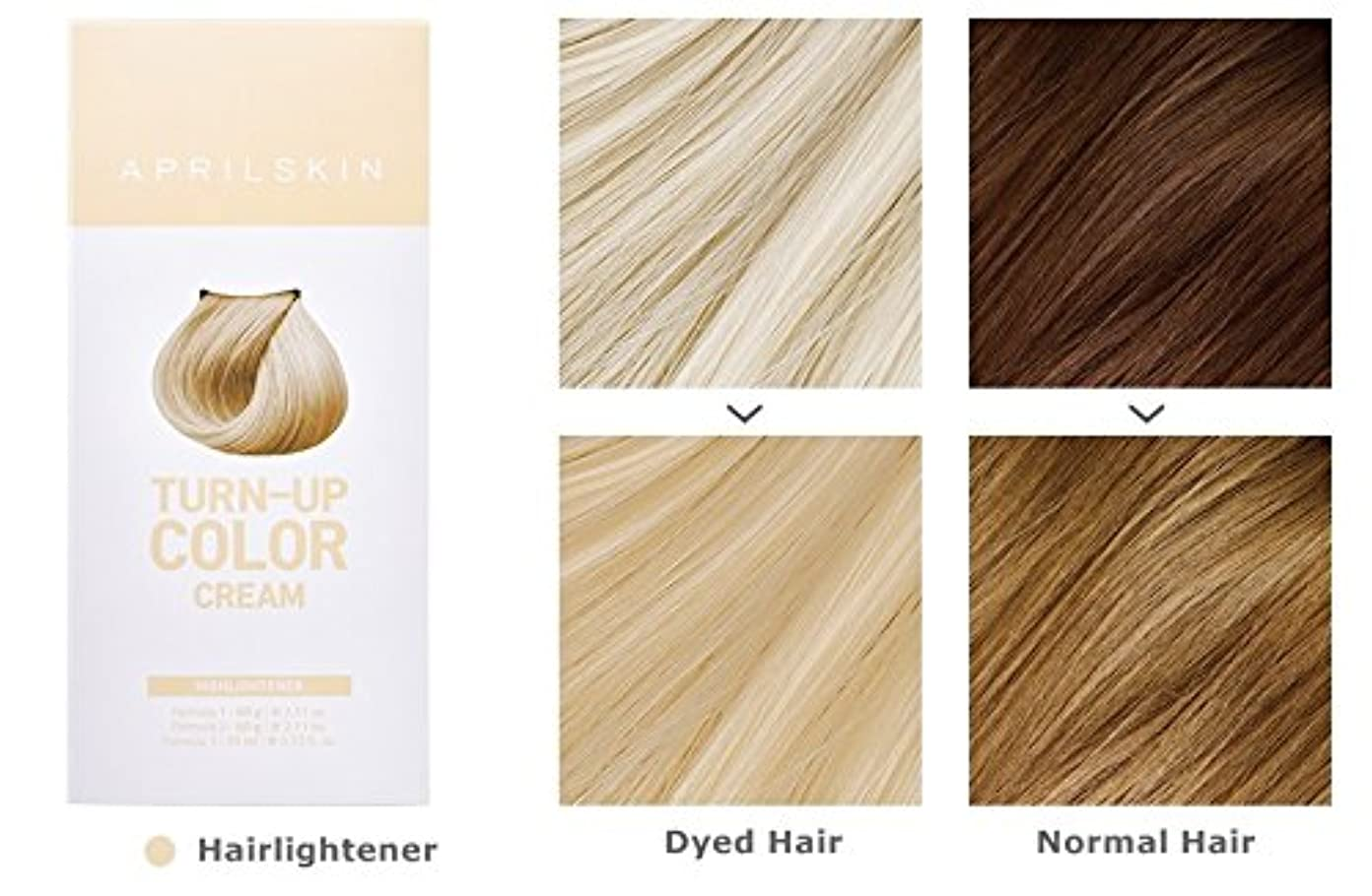 熱心な波雰囲気April Skin Turn Up Color Cream Long lasting Texture Type Hair Dye エイプリルスキン ターンアップカラークリーム長持ちテクスチャタイプヘアダイ (紅)