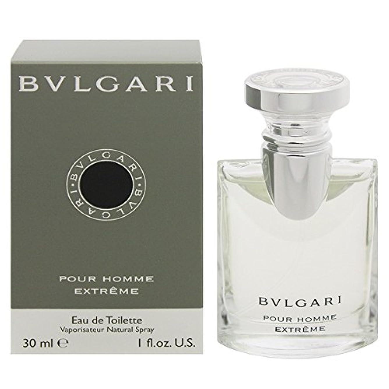 ストライド控えるくブルガリ BVLGARI プールオム エクストレーム オードトワレ スプレー EDT 30mL 【香水】 [並行輸入品]