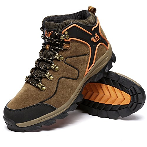[LoZoDo] 男女兼用 アウトドア シューズ 大きいサイズ トレッキング シューズ ハイカット 防滑 登山靴