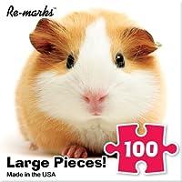ジグソーパズル100ピース10インチx 10インチGuinea Pig by re-marks