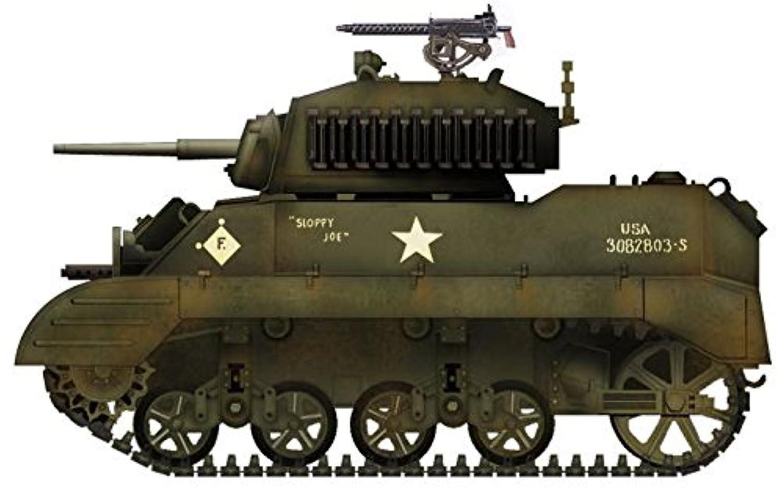 ホビーマスター 1/72 M5A1スチュアート スローピージョー 完成品
