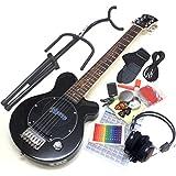 Pignose ピグノーズ ギター PGG-200 BK ブラック アンプ内蔵ミニギター14点セット [98765]【検品後発送で安心】