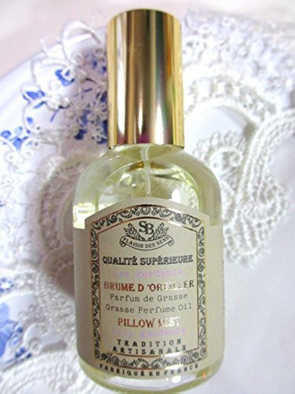 情緒的集団的矩形Senteur et Beaute(サンタールエボーテ) French classic(フレンチクラシックシリーズ) ピローミスト 50ml 「リリーガーデニア」 4994228024367
