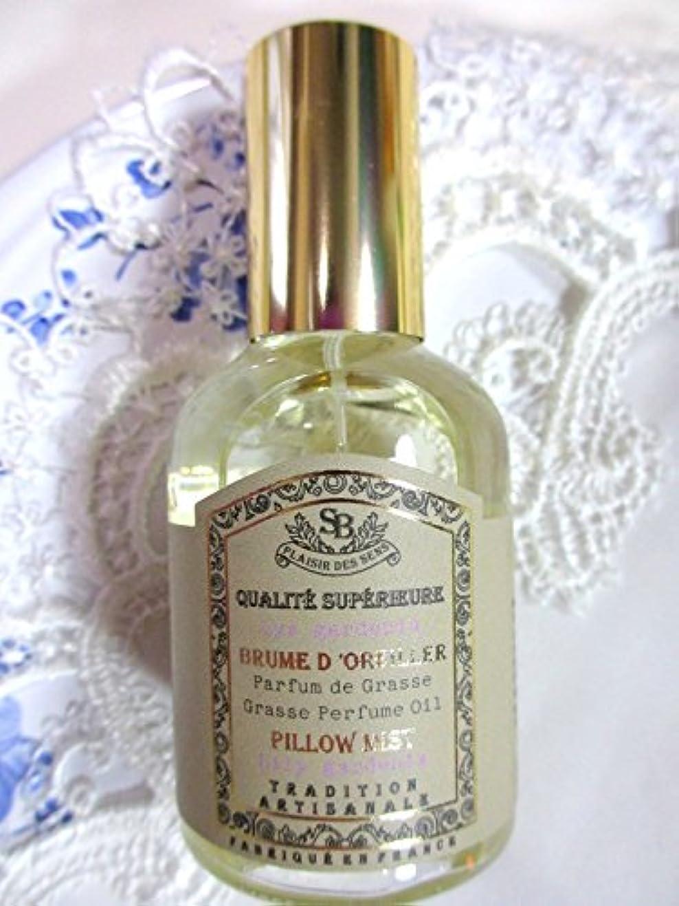 ステーキ勇気のある経由でSenteur et Beaute(サンタールエボーテ) French classic(フレンチクラシックシリーズ) ピローミスト 50ml 「リリーガーデニア」 4994228024367