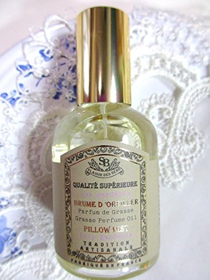 怠文房具風味Senteur et Beaute(サンタールエボーテ) French classic(フレンチクラシックシリーズ) ピローミスト 50ml 「リリーガーデニア」 4994228024367
