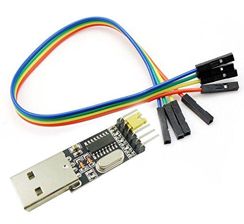 KKHMF CH340モジュール STC マイクロ コントローラー ダウンロード USBターンTTLシリアル