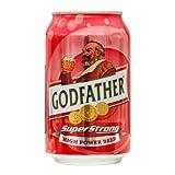 ゴッドファーザー スーパーストロング 330ml 1缶 インドビール GOD FATHER SUPER STRONG India Beer 輸入ビール 輸入発泡酒