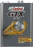 CASTROL(カストロール) エンジンオイル GTX XF-08 5W-40 SM/CF 部分合成油 4輪ガソリン/ディーゼル車両用 4L [HTRC3]