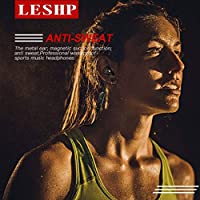 LESHP Wireless Earphone Earpiece Sport Running Stereo Earbuds With Microphone Hands-free Headphone 828