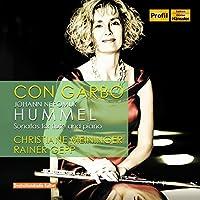 ヨハン・ネポムク・フンメル : フルートとピアノのためのソナタ集 (Con Garbo ~ Johann Nepomuk Hummel : Sonatas for flute and piano / Christiane Meininger , Rainer Gepp) [輸入盤]
