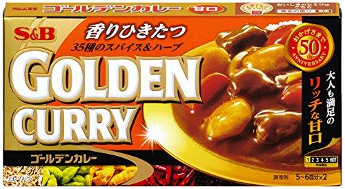 ゴールデンカレー 甘口 198g×5個