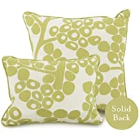 Oilo Modern Berries Pillow, Green by Oilo