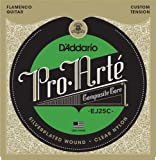 D'Addario ダダリオ クラシックギター弦 クリアーナイロン フラメンコ EJ25C FLAMENCO 【国内正規品】
