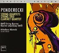 String Quartets String Trio by KRZYSZTOF PENDERECKI (2011-04-26)