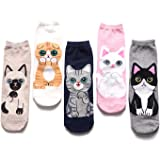 TY Clothing Girls & Women Cartoon Funny Cute Animals Patterned Socks 3