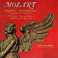 モーツァルト/交響曲第38番「プラハ」・第41番「ジュピター」