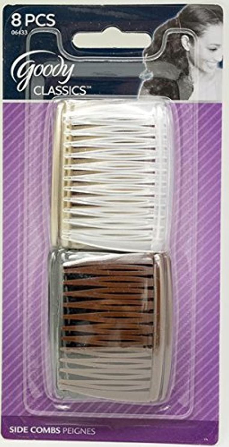 寂しい賢明な鋸歯状Goody Women Classics Multi Pack Short Side Combs, 8 Count [並行輸入品]