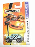 2007 Matchbox -#61 Volkswagen 4 x 4 Baby Blue Collectibles Collector Car