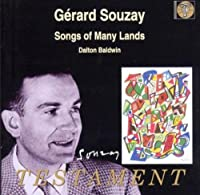 Songs of Many Lands by G. SOUZAY (2001-09-11)