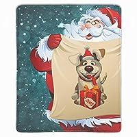 マウスパッド 抗菌 疲労低減 クリスマスサンタ レーザー&光学式マウス対応パッド