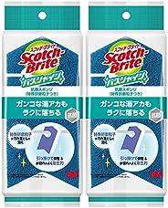 【Amazon.co.jp限定】 3M お風呂掃除 スポンジ 抗菌 特殊研磨粒子 2個 スコッチブライト バスシャイン BM-12K 2P