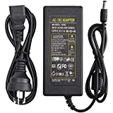12V 5A Power Adapter AC 100-220V to DC 60W Power Supply AU Plug Switching PC Power Cord for LCD Monitor LED Strip Light DVR NVR Security Cameras System CCTV