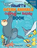Hawaii's Ocean Animals Coloring and Activity Book