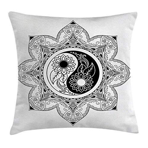 Ying Yang Decor Pillow case Bo...