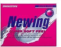 ブリヂストン(BRIDGESTONE) ゴルフボール ニューイング ニューイング スーパーソフトフィール ユニセックス NCPX スーパーピンク グラデーショナル・ソフトコア